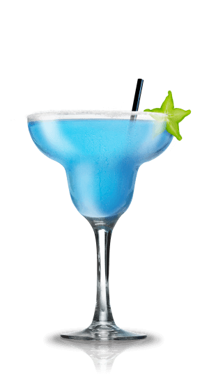 Blue cocktail  Blue Margarita - Cocktail Flow